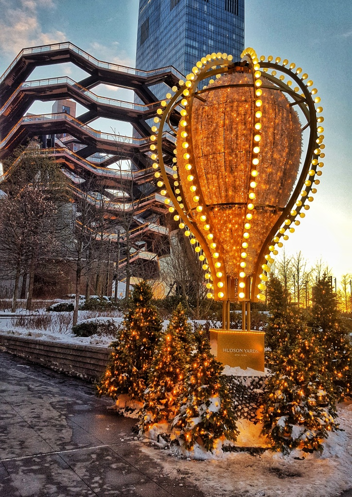 New York Christmas at Hudson Yards
